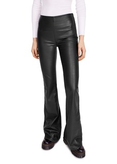 Free People Penny Flared Faux Leather Pants