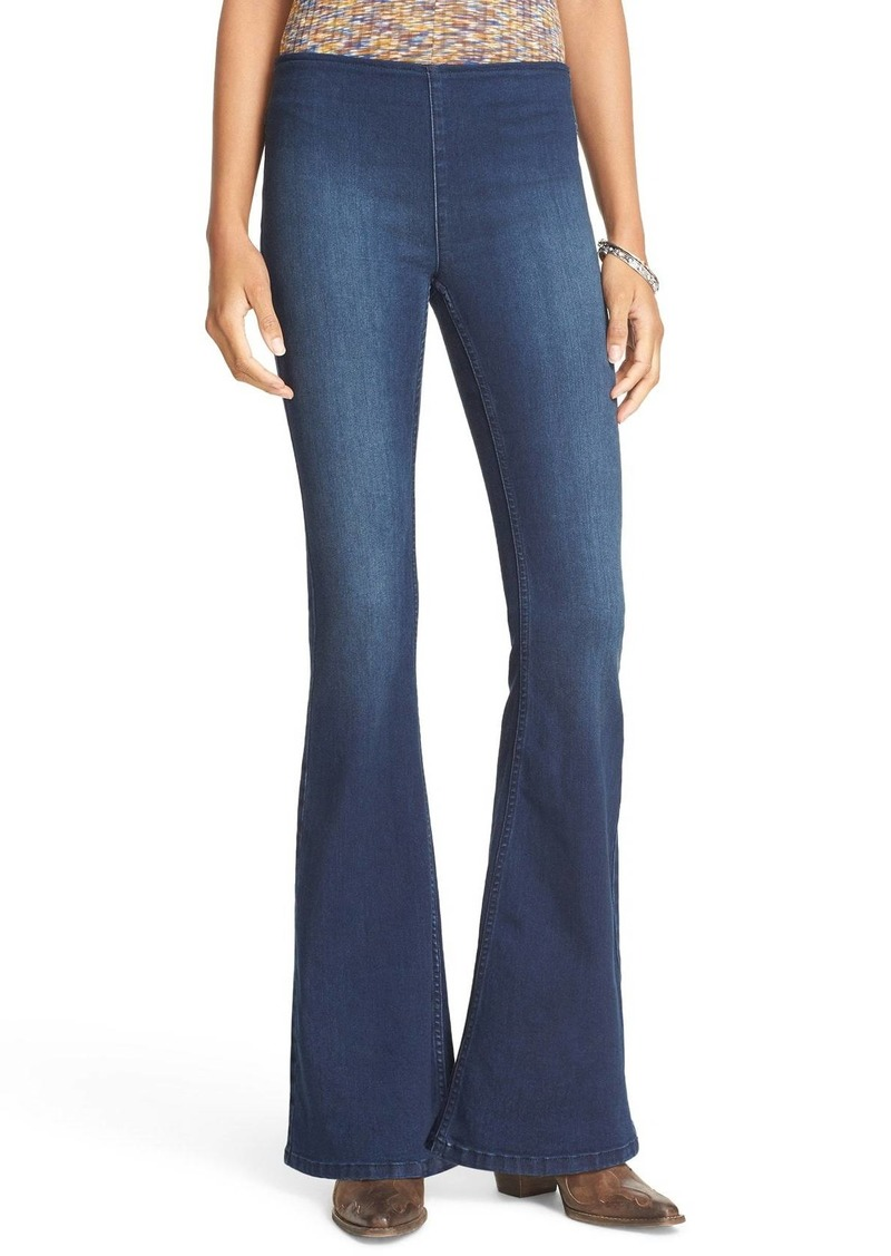 Free People 'Penny' Pull-On Flare Jeans