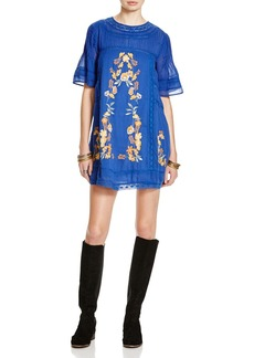 Free People Perfectly Victor Embroidered Dress