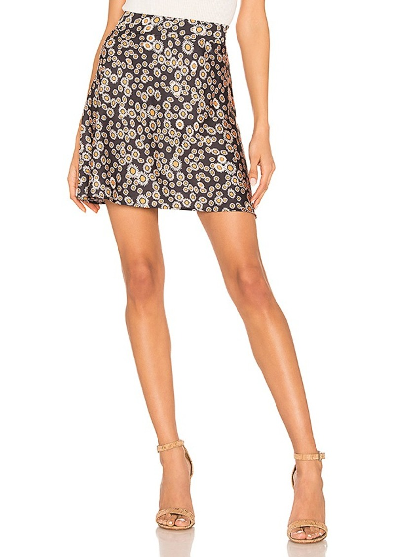 Free People Phoebe Printed Mini Skirt
