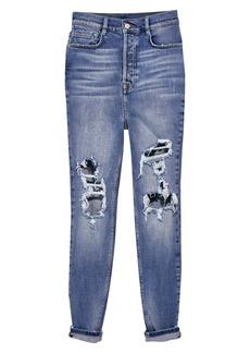 Free People Phoenix Ripped Skinny Jeans