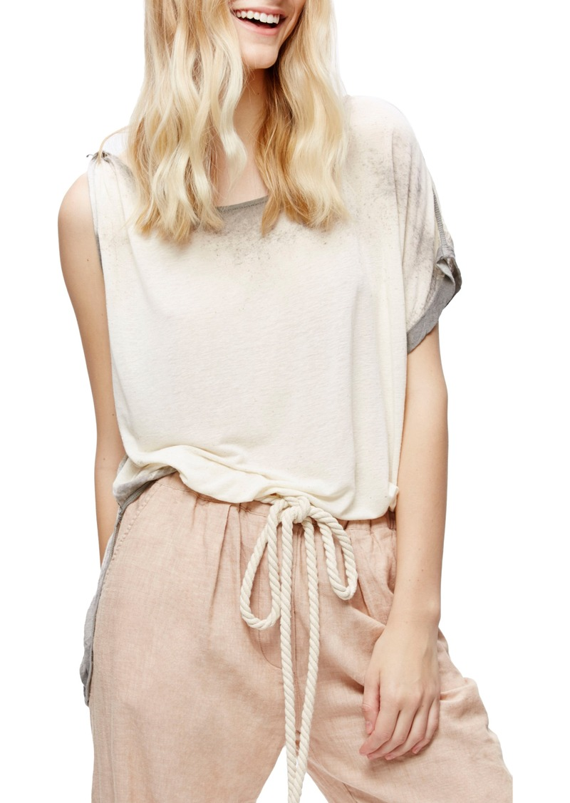 0a31b31a10ee84 Free People Free People Pluto One-Shoulder Tee