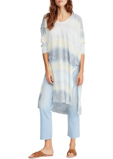 Free People Pomona Linen & Cotton Tunic Tee