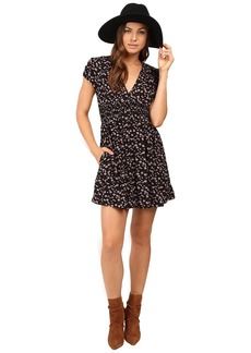 Free People Pretty Baby Mini Dress
