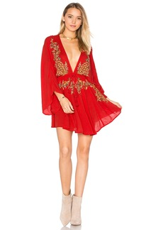 Free People Pretty Pineapple Dress