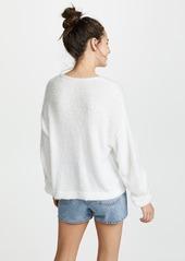 Free People Princess V Neck Sweater