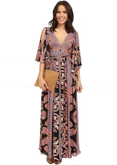 Free People Printed Fern Maxi Dress