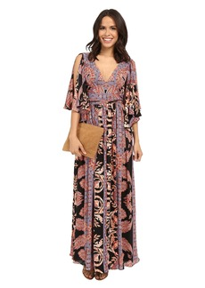 Free People Printed Fern Maxi Dress