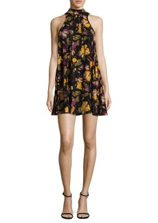 Free People Printed Halter Dress