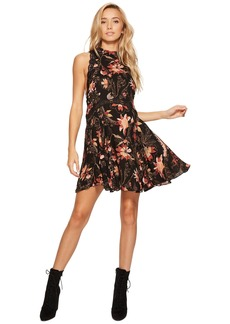 Free People Printed She Moves Slip