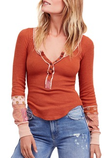 We the Free by Free People Railroad Henley Top
