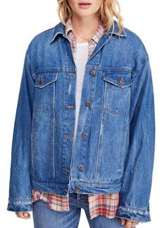 Free People Ramona Denim Trucker Jacket