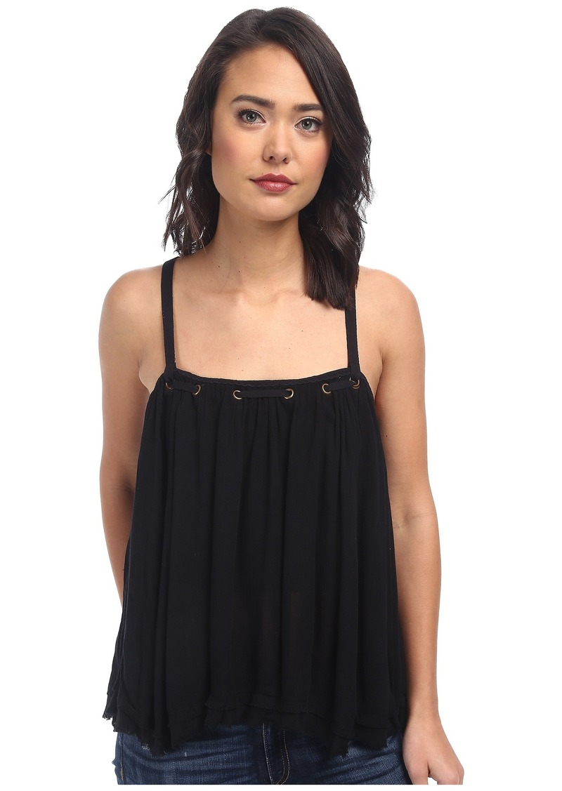 Free People Rayon Gauze Waiting For You Tank Top