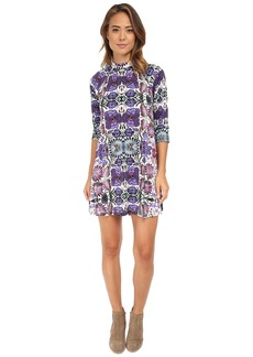 Free People Rayon Interlock Fiesta Floral Dress