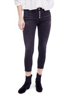 Free People Reagan Crop Skinny Jeans