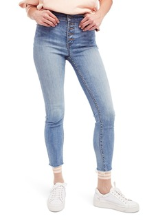 Free People Reagan Crop Skinny Jeans (Sky)