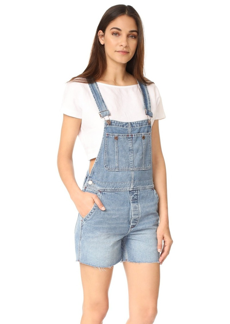 635620cc550 Free People Free People Relaxed Boyfriend Overalls