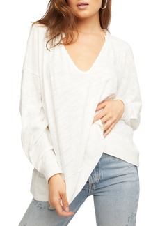Free People Relaxed Cotton Pullover