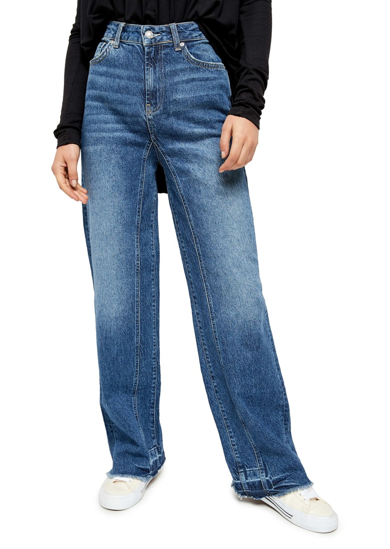 Free People Relaxed Slouch Straight Leg Jeans