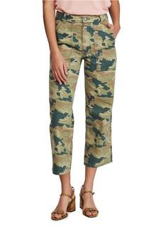 Free People Remy Camo Crop Pants