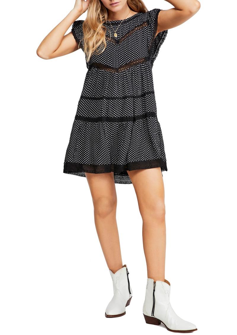 Free People Retro A-Line Dress