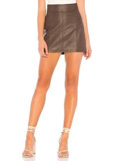 Free People Retro Bodycon Mini Skirt
