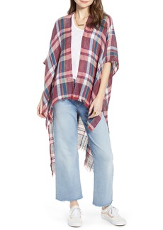 Free People Reverie Plaid Duster