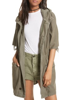 Free People Reworked Army Jacket