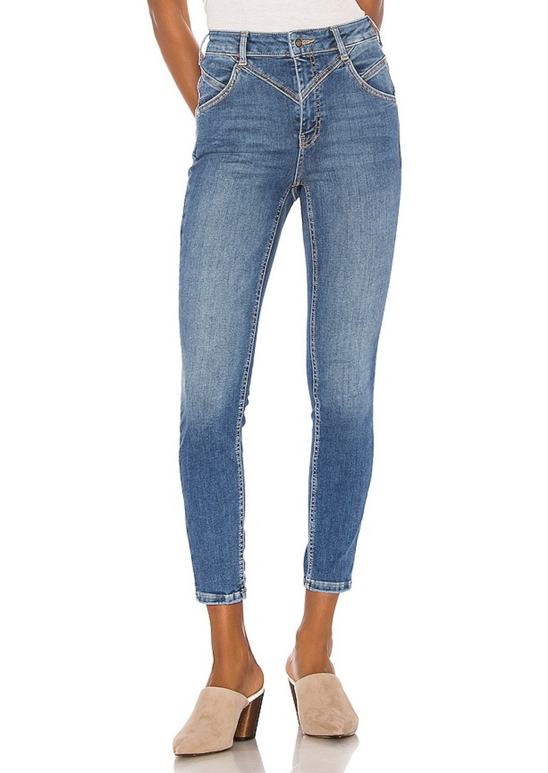 Free People Riley Seamed Skinny