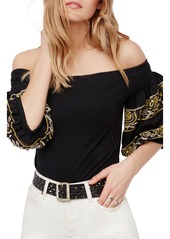 Free People Rock With It Off the Shoulder Top
