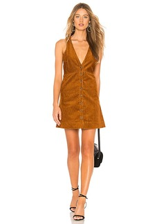 Free People Rolling Thunder Corduroy Mini Dress