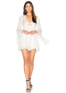 Free People Romeo Mini Dress in Ivory. - size L (also in M,S)
