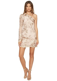 Free People Rosalie Embroidered Mini Dress