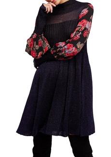 Free People Rose & Shine Sweater Dress