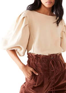 Free People Rosey Pleated Shirt