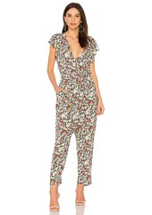 Free People Ruffle Your Feathers Printed One Piece