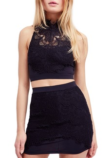 Free People Sabina Crop Top & Skirt