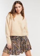 Free People Saturday Sun mini skirt in multi print