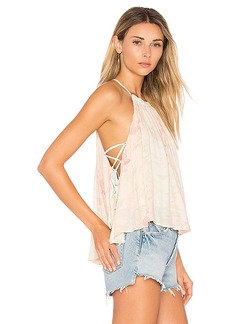 Free People Season In The Sun Tank Top in Mint. - size L (also in M,S,XS)