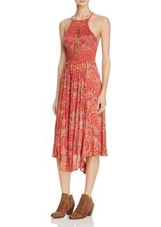 Free People Seasons In The Sun Printed Dress