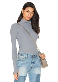 Free People Second Skin Turtleneck Top