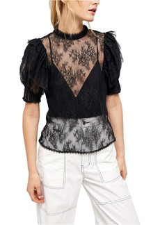 Free People Secret Admirer Blouse