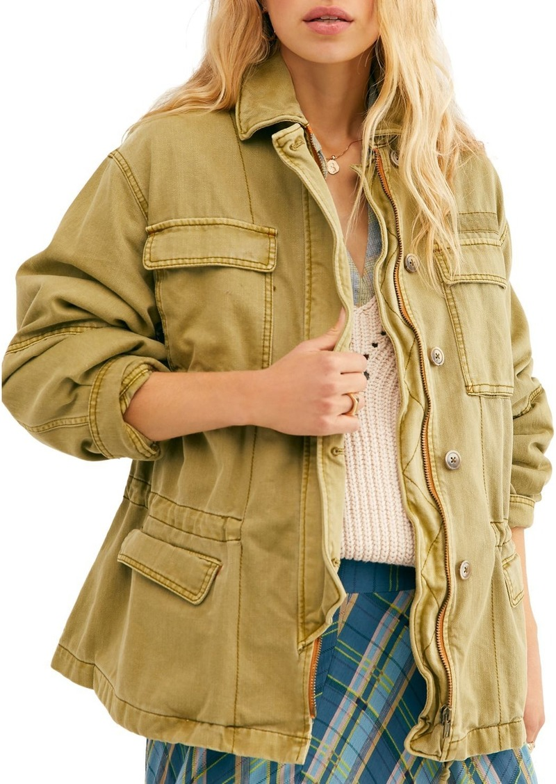 Free People Seize the Day Utility Jacket