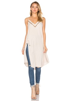 Free People Sensual Military All I Want Maxi Tank