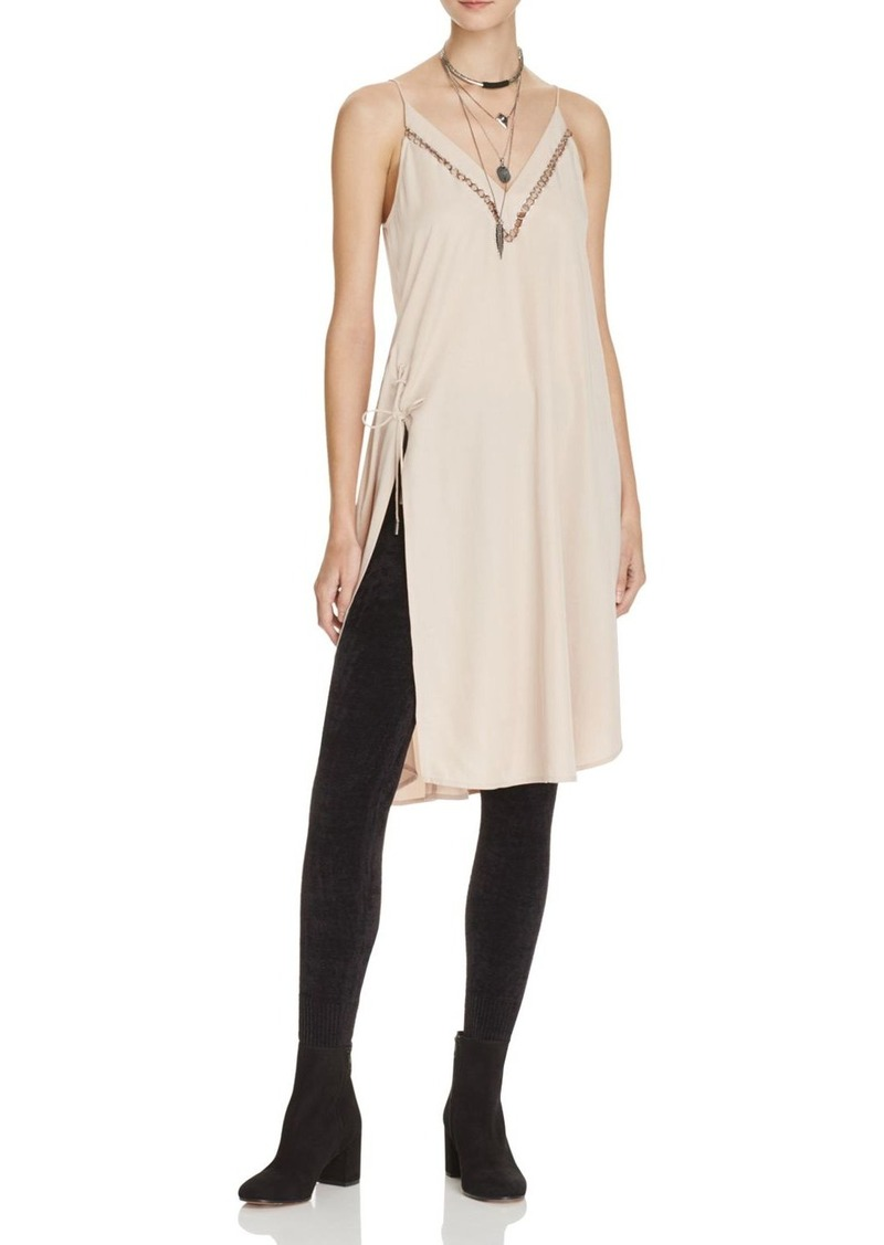 Free People Sensual Military Slip Dress