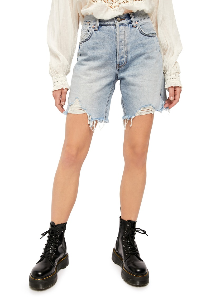 Free People Sequoia Denim Shorts