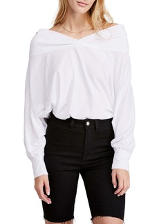 Free People Sequoia Wide Neck Top