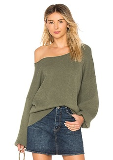 Free People Shadow Crew Pullover