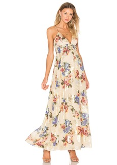 Free People Shadows Printed Dress