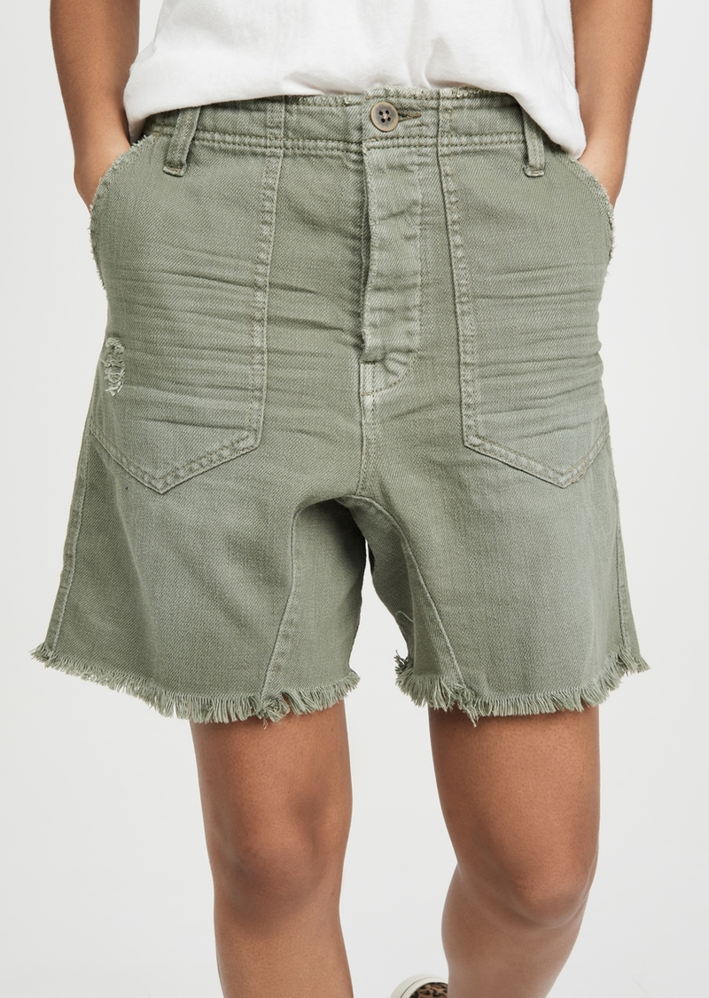 Free People She's A Legend Harem Shorts